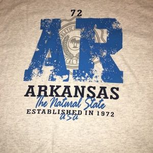 """Arkansas """"The Natural State"""" Tee (L)"""